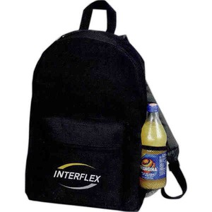 1 Day Service Backpacks with Large Zippered Compartments, Customized With Your Logo!
