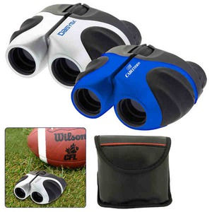 Custom Printed 1 Day Service Binoculars with Rubberized Grips
