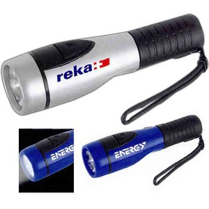 Custom Printed 1 Day Service Flashlights with Wrist Ropes