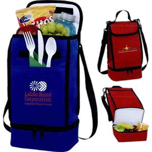 Custom Printed 1 Day Service Flexar Canvas Insulated Lunch Bags