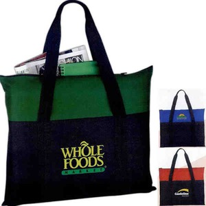 1 Day Service Flexar Canvas Tote Bags, Personalized With Your Logo!