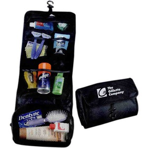 Custom Printed 1 Day Service Folding Personal Amenity Travel Cases