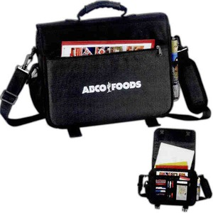 Custom Printed 1 Day Service Laptop Cases with Mesh Zippered Pockets