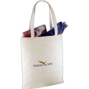 Custom Printed 1 Day Service Organic Cotton Drawstring Tote Bags