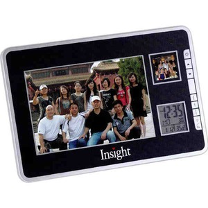 1 Day Service Photo Frame Alarm Clocks, Custom Imprinted With Your Logo!