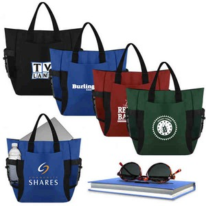 1 Day Service Recycled 600 Denier Material Backpacks, Personalized With Your Logo!