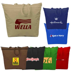 Custom Printed 1 Day Service Recycled Tote Bags