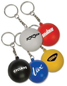 Custom Printed 1 Day Service Round Swivel Key Rings