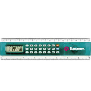 Custom Printed 1 Day Service Ruler Calculators