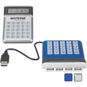 Custom Printed 1 Day Service USB Hub and Clock Combinations