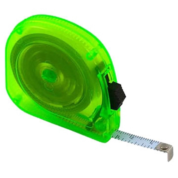 3 Day Service 10 Foot Translucent Tape Measures, Customized With Your Logo!