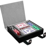Custom Printed 100 Chip Professional Poker Sets