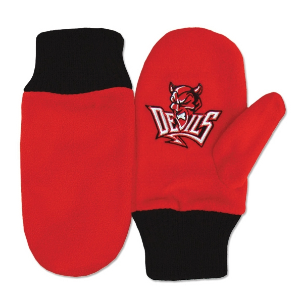Pig Mascot Mittens, Custom Imprinted With Your Logo!