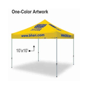 Custom Printed 10ft by 10ft Portable Pop Up Tents
