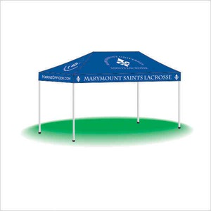Custom Printed 10ft by 15ft Portable Pop Up Tents