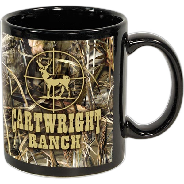 Custom Printed Camouflage Ceramic Mugs