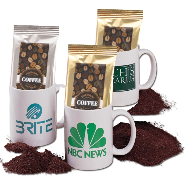 Coffee Packets, Personalized With Your Logo!