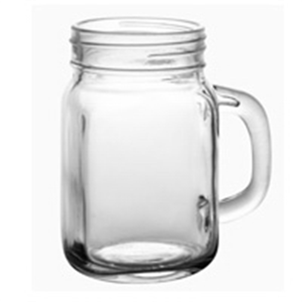 Custom Imprinted 12oz. Mason Jar Mugs