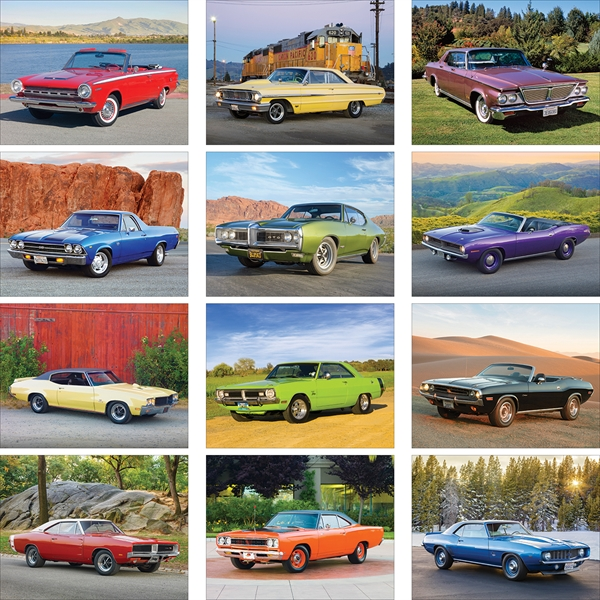 American Muscle Appointment Calendars, Custom Made With Your Logo!