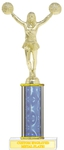 Custom Printed Cheerleader Trophies