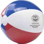 Custom Printed 16 inch Patriotic Beach Balls