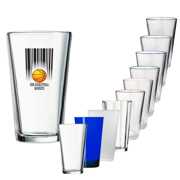 Custom Printed Acrylic Pint Glasses