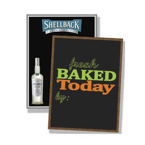 Custom Imprinted 18x24 Chalkboards and Blackboards