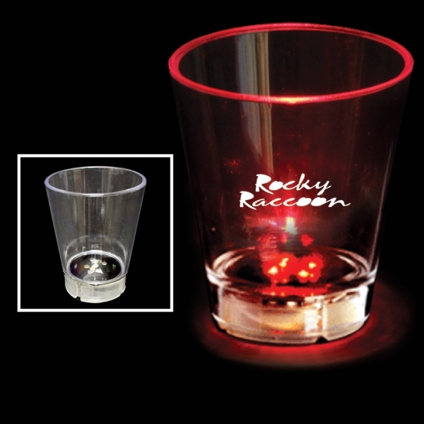 Custom Printed Light-up Shot Glasses