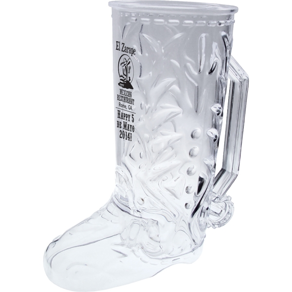 Custom Imprinted Cowboy Boot Shaped Mugs