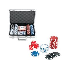 200 Chip Professional Poker Sets, Custom Decorated With Your Logo!