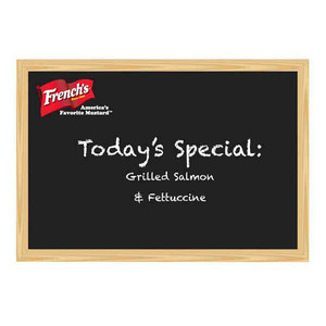 Custom Imprinted 24x24 Chalkboards and Blackboards