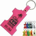 Customized Number One Shaped Key Tags