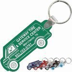 Personalized Van Shaped Key Tags