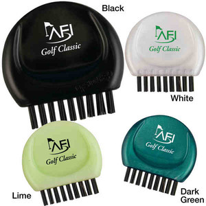Custom Printed 3 Day Service 2-in-1 Golf Club Brushes
