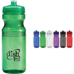 3 Day Service 24oz. Bike Sport Bottles, Custom Designed With Your Logo!