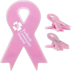 Custom Printed 3 Day Service Awareness Ribbon Magnetic Memo Clips
