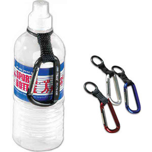 Custom Printed 3 Day Service Carabiner Water Bottle Holders