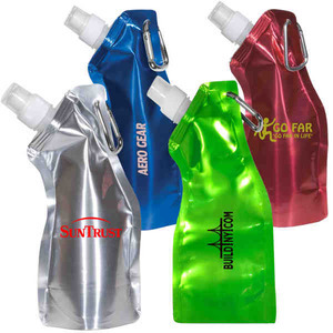 Custom Printed 3 Day Service Collapsible Sport Bottles