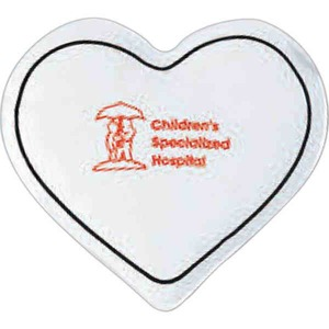 Custom Printed 3 Day Service Heart Shaped Cold Packs