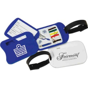 Custom Printed 3 Day Service Luggage Tags with Sewing Kits