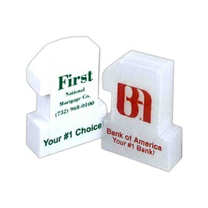 Custom Printed 3 Day Service #1 Shaped Savings Banks