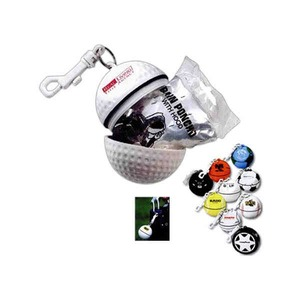 Custom Printed 3 Day Service Soccer Ball Shaped Waterproof Containers with Ponchos