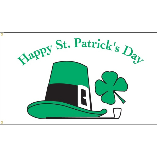 Custom Printed St. Patrick's Day Holiday Nylon Flags