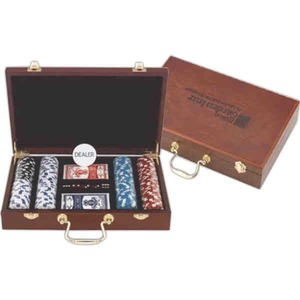 Custom Printed 300 Chip Professional Poker Sets