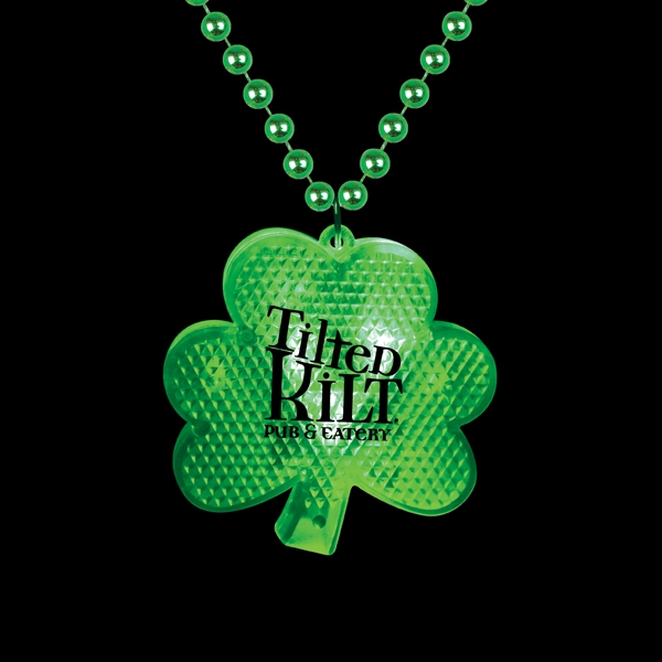Custom Printed St. Patrick's Day Holiday Lighted Pendants