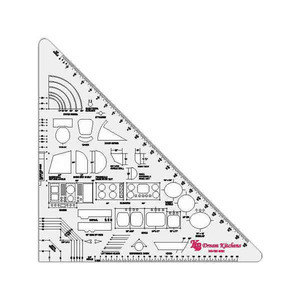 Custom Printed 45/90 Triangle Rulers