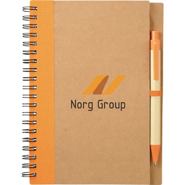 1 Day Service Recycled Coordinator Journal Portfolios, Personalized With Your Logo!