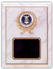 Custom Engraved Air Force Recruiting Service Plaques