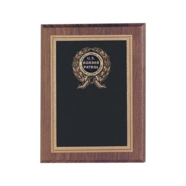 Custom Engraved Department of Homeland Security US Border Patrol Plaques