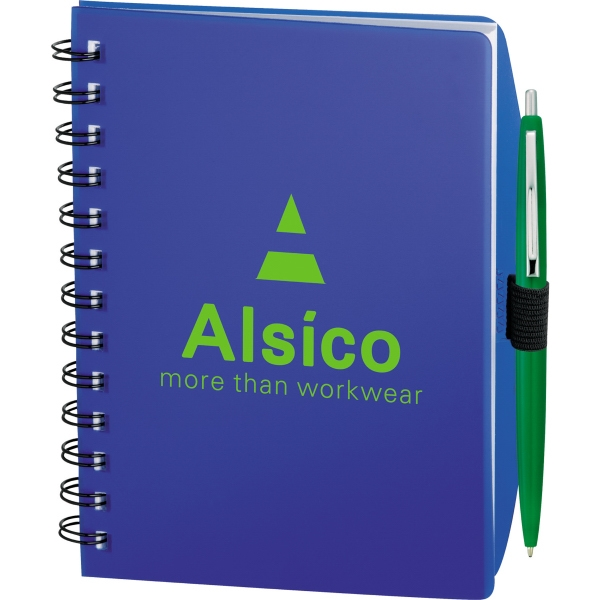1 Day Service Notebook on a Rope Notebooks, Personalized With Your Logo!
